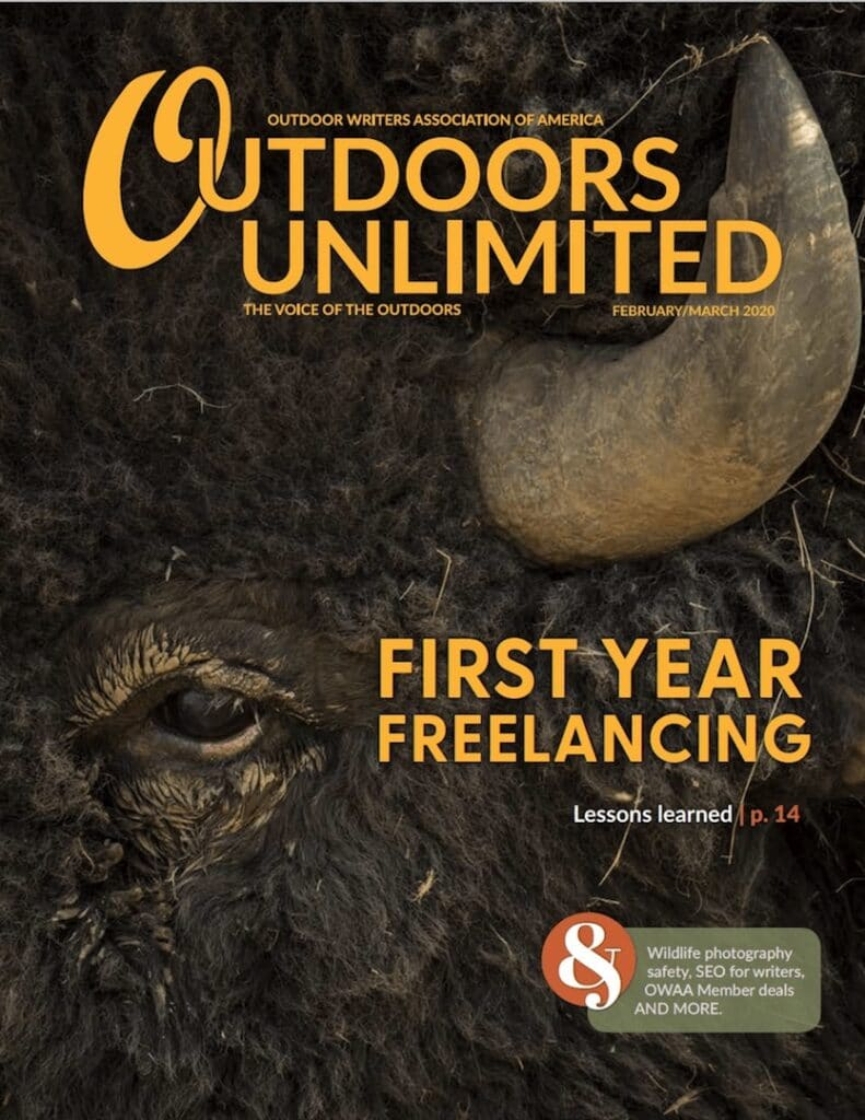 Cover of Feb/Mar 2020 Outdoors Unlimited